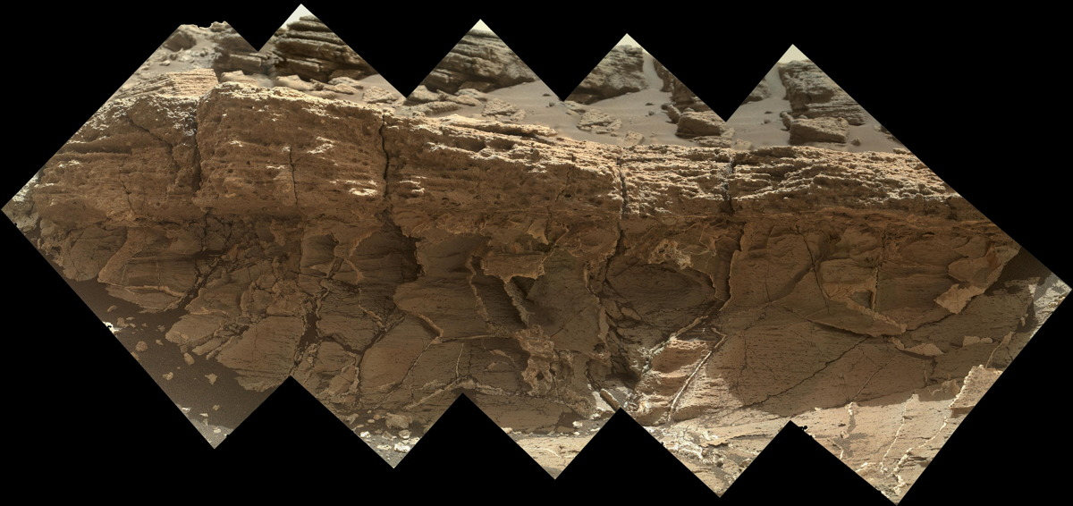 NASA's Curiosity Rover Eyes Weird Rock On Mars