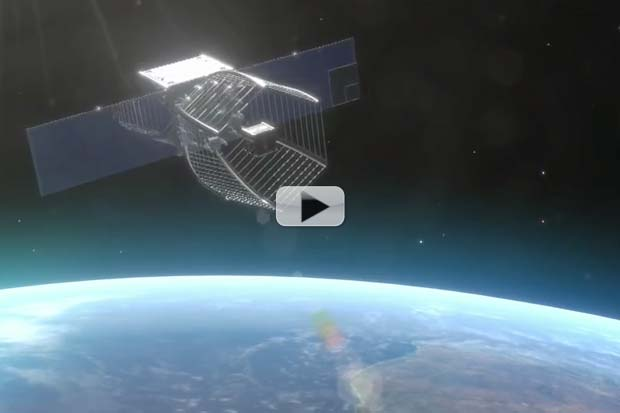 How 'A Pac-Man' Satellite Will Gobble Up Space Debris | Video