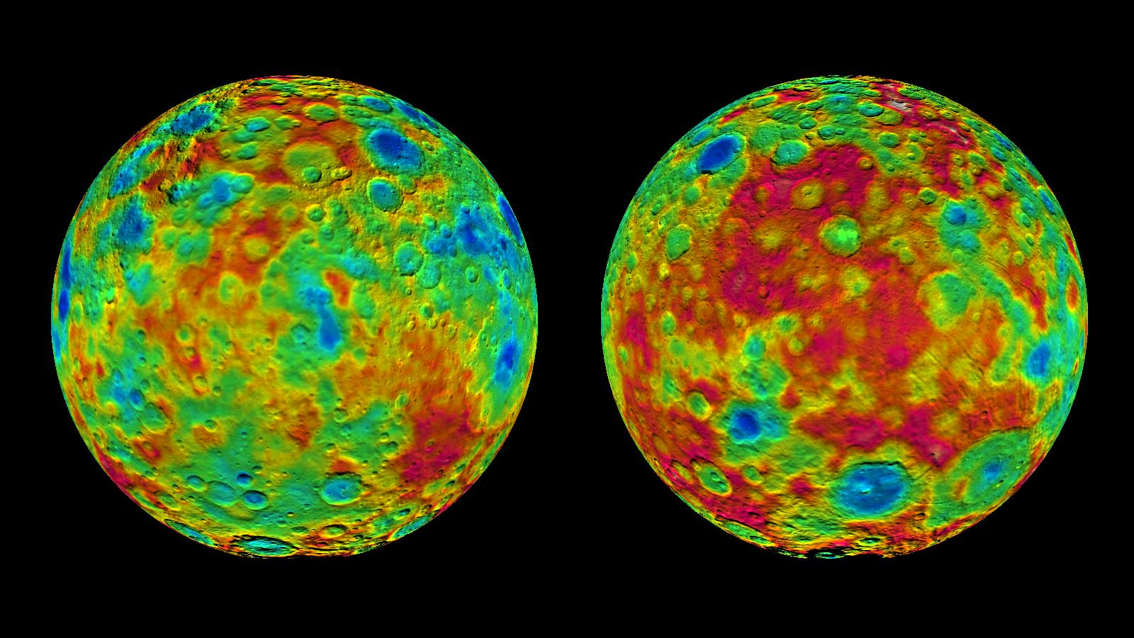 Dawn's Ceres Maps
