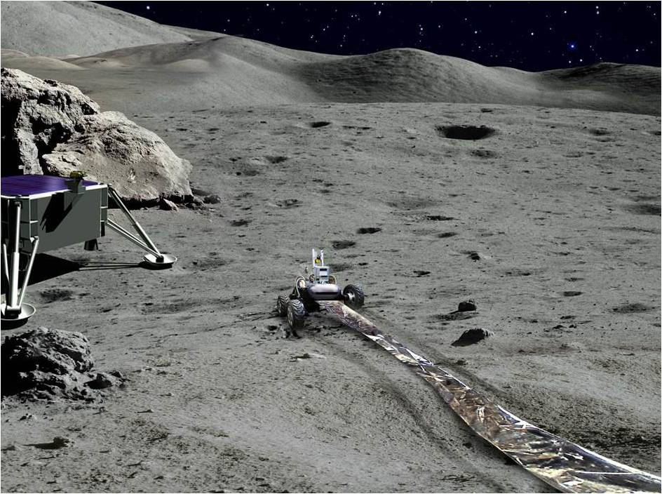 How Robots Could Build a Radio Telescope on Far Side of the Moon