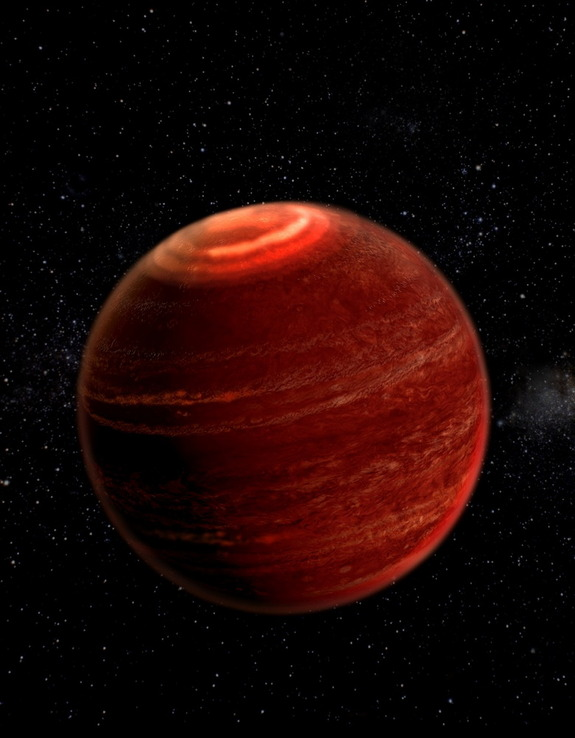 Auroras detected on the brown dwarf LSR J1835+3259 are much brighter than auroras on Earth, possibly 1 million times brighter than the best northern lights we can see, scientists say.