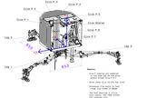 Diagram of the washing-machine-size Philae lander.