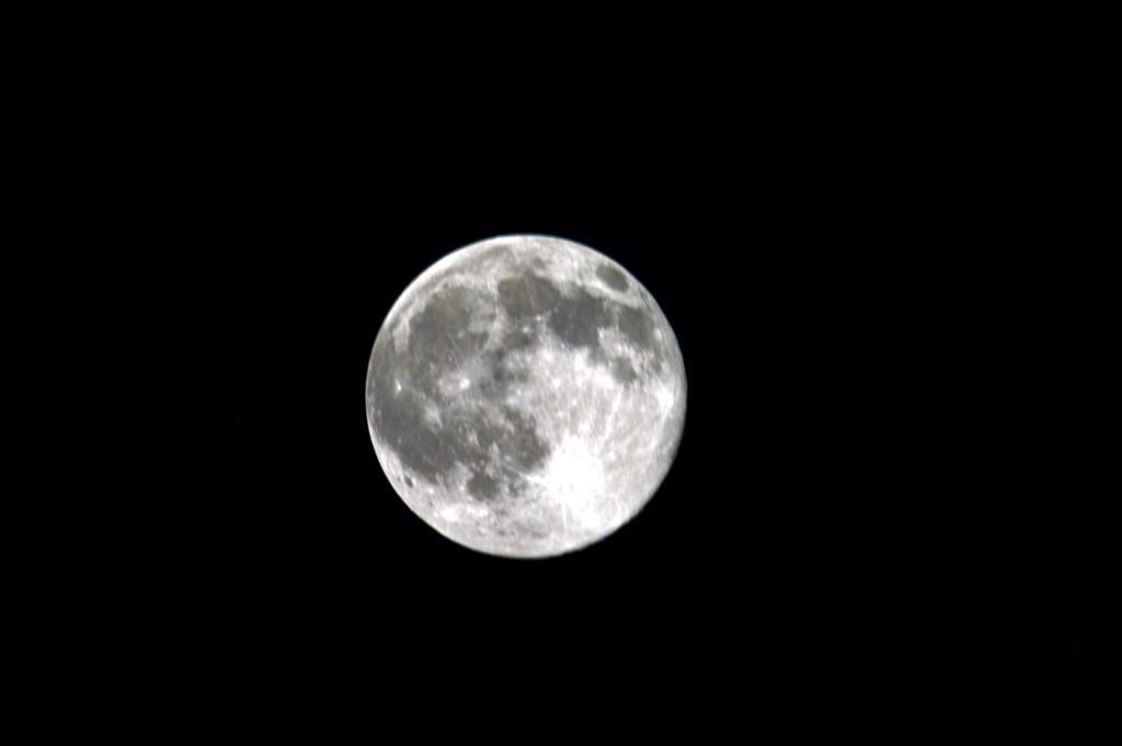 Astronaut's Blue Moon