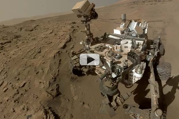 Curiosity's 3 Year Martian Road-Trip Tells Tantalizing Tales Of Water | Video