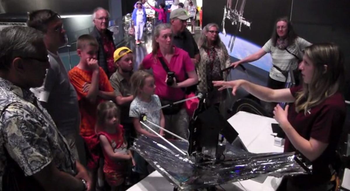 MesaTech James Webb Space Telescope Model