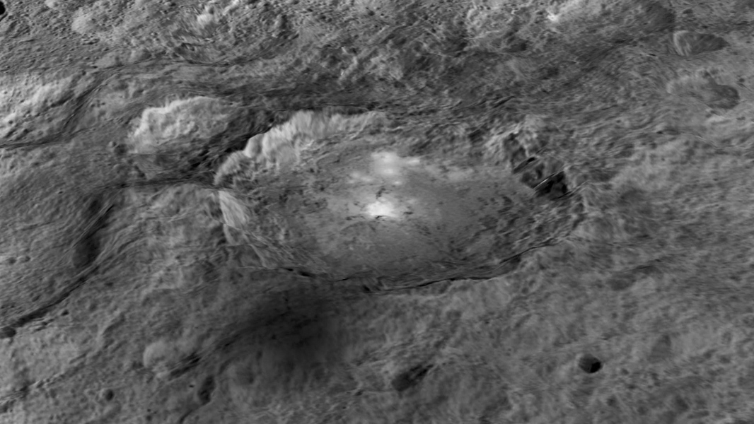 Ceres' Bright Spots in Occator Crater