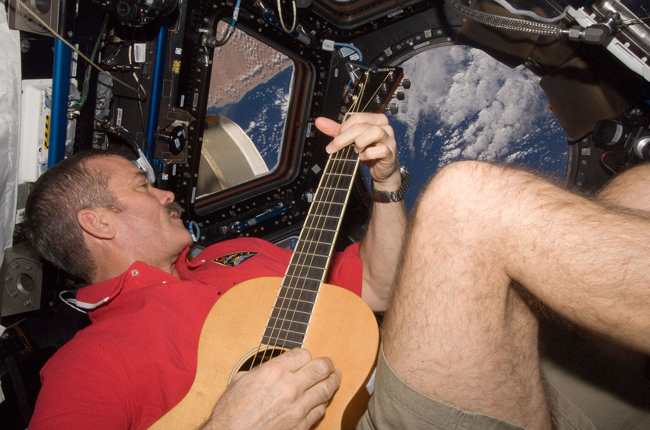 Chris Hadfield: Canadian Astronaut-Guitarist