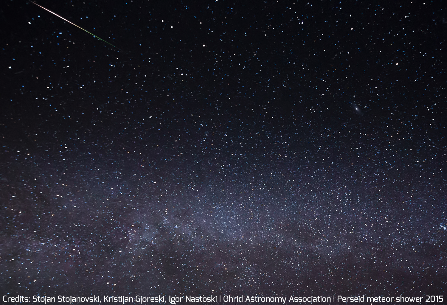 Watch the 2015 Perseids Meteor Shower in August from the UK | Dark ...