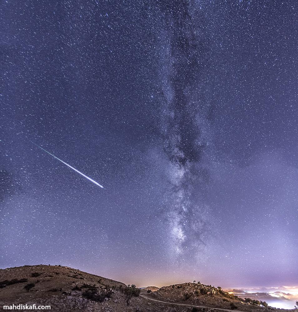 Meteor Over Lebanon