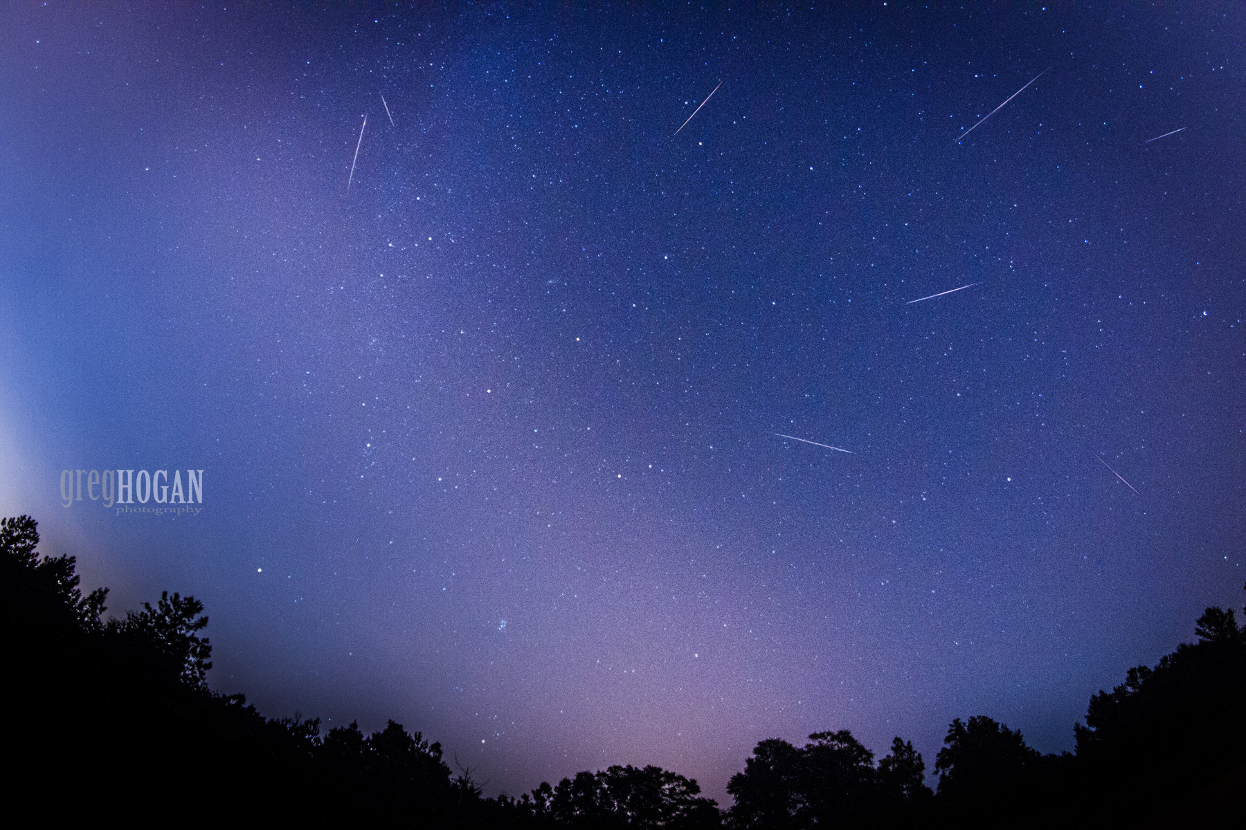 2015 Perseid Meteors Over Georgia