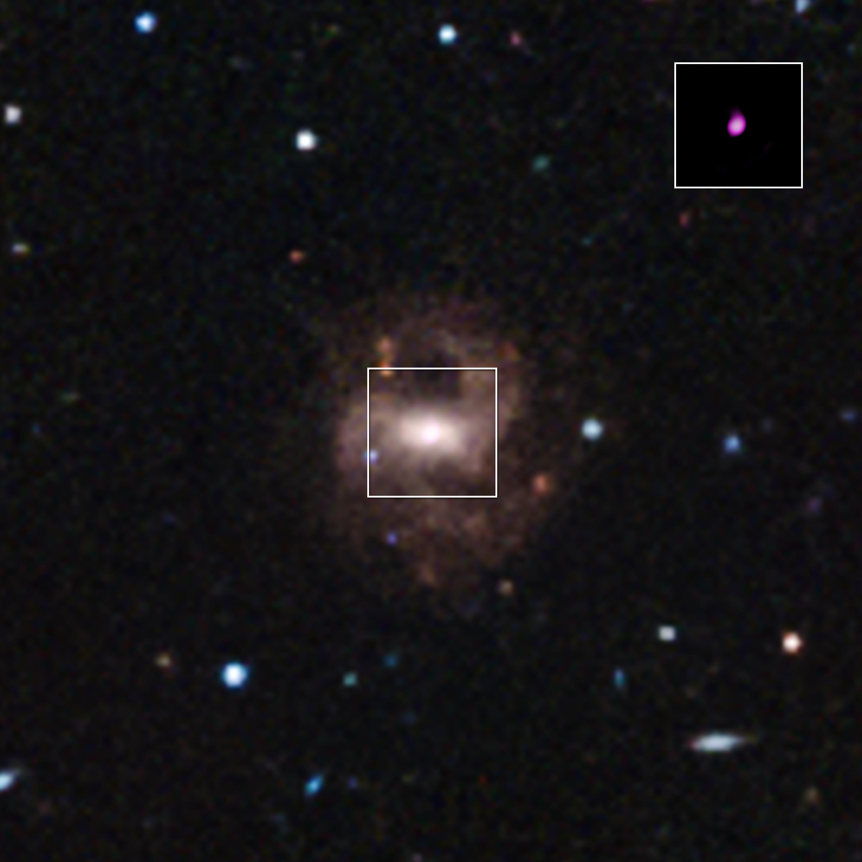 RGG 118 Supermassive Black Hole