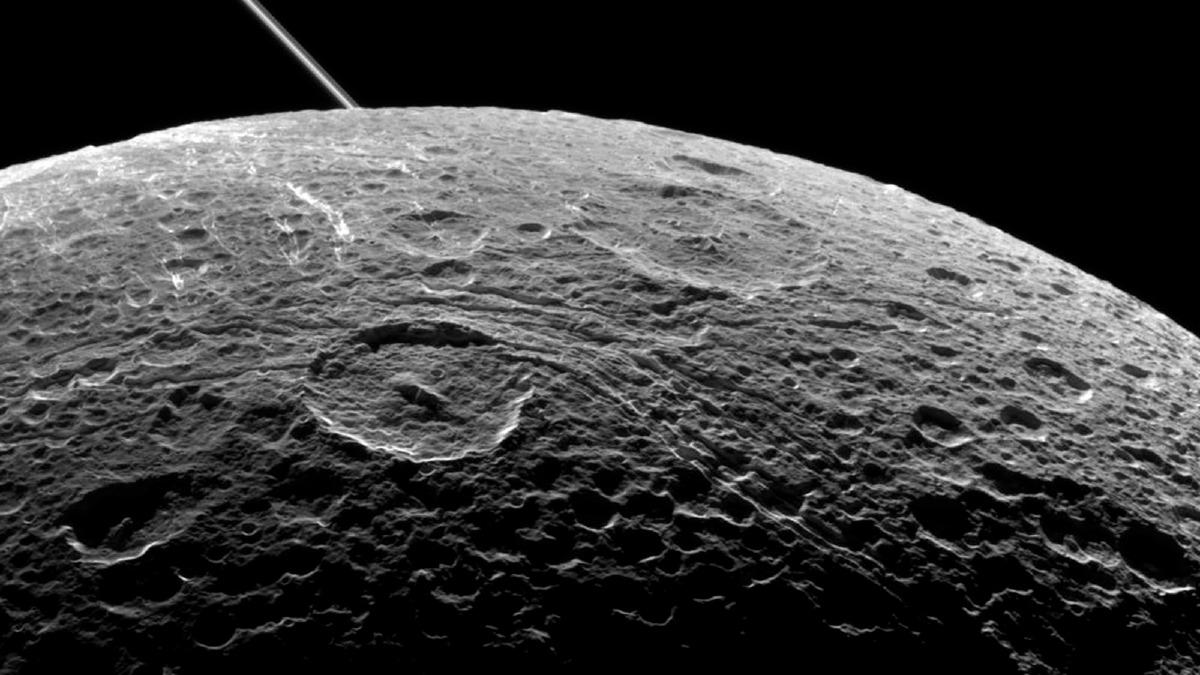 Dione in June 2015