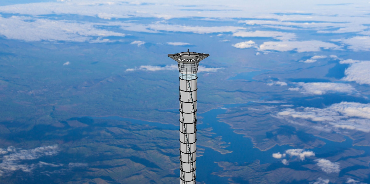 Wild Inflatable Space Elevator Idea Could Lift People 12 Miles Up