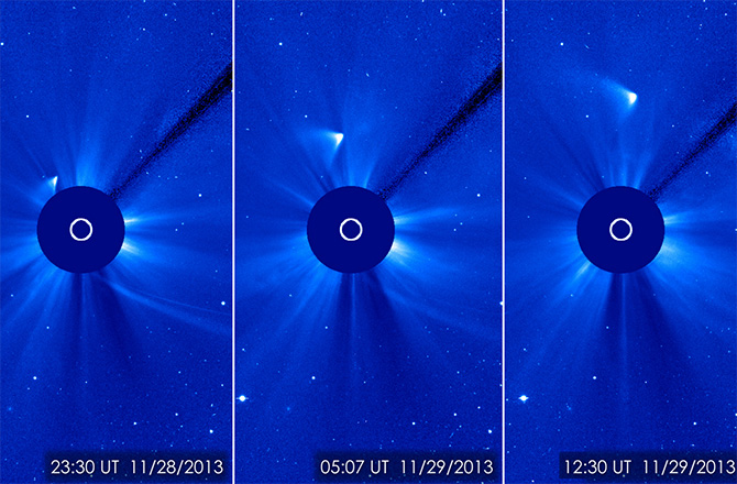 The Solar and Heliospheric Observatory has discovered thousands of comets during its sun-watching mission. Now SOHO is nearing the discovery of Comet No. 3,000.