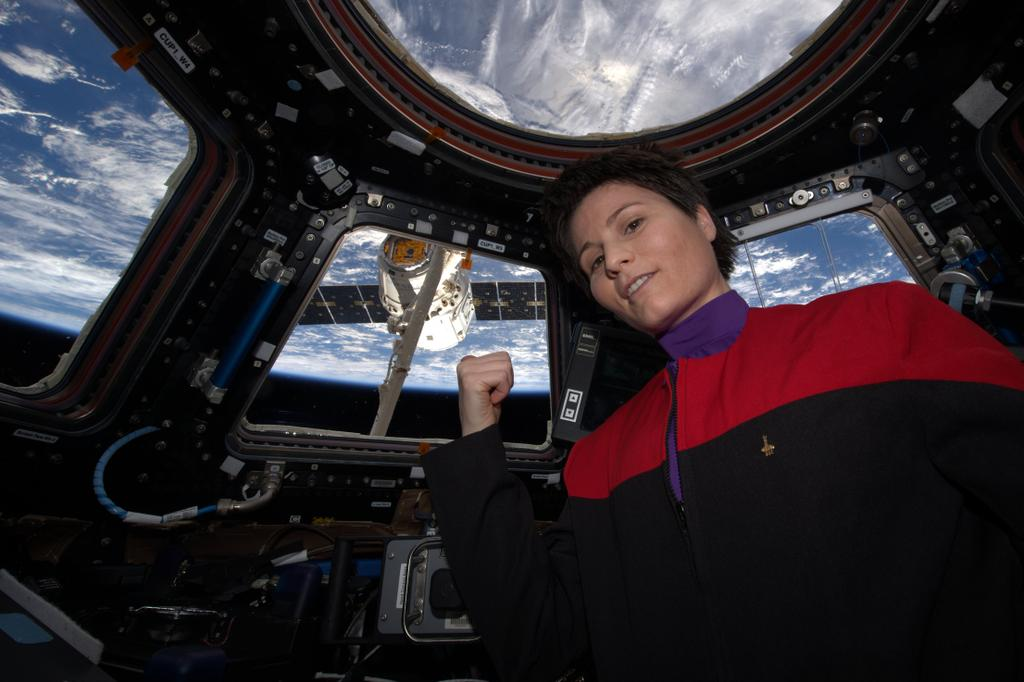 'Star Trek' Fan Film Recruits Real-Life Astronaut Samantha Cristoforetti