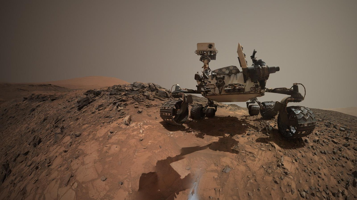 Curiosity Mars Rover Self-Portrait on Aug. 5, 2015