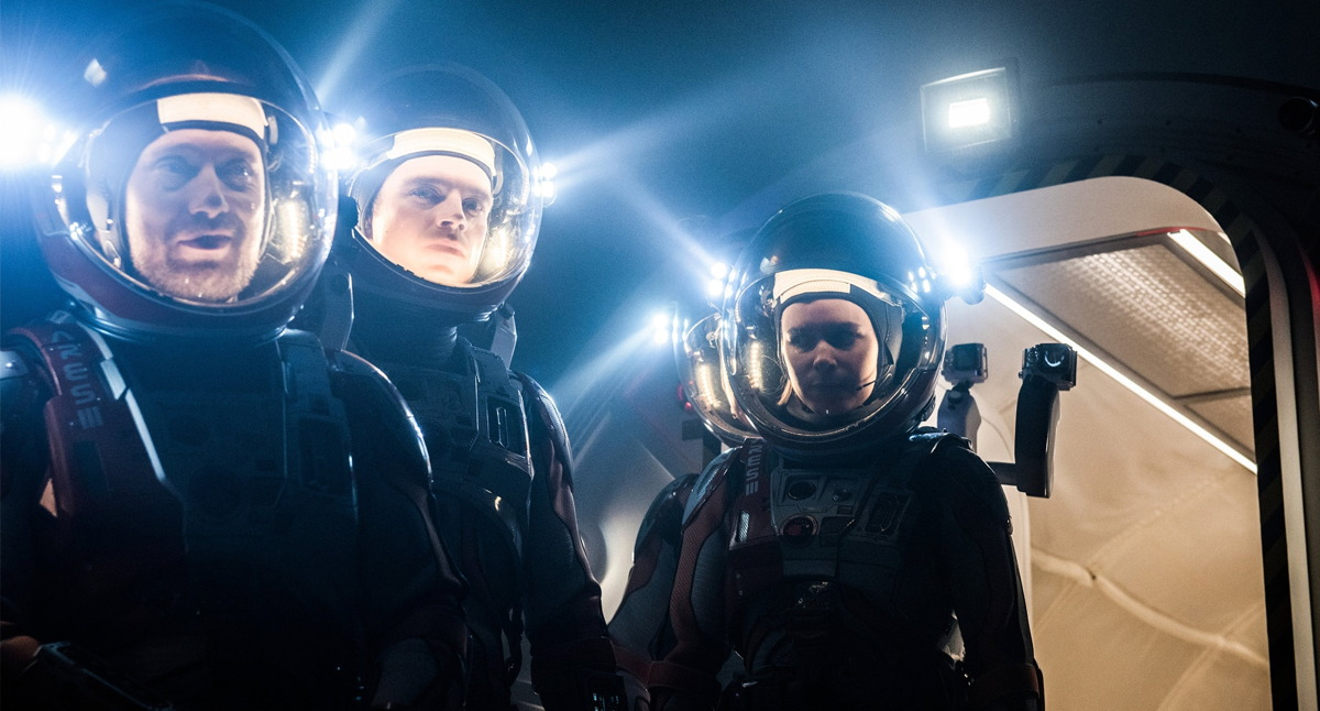 Astronauts in 'The Martian'