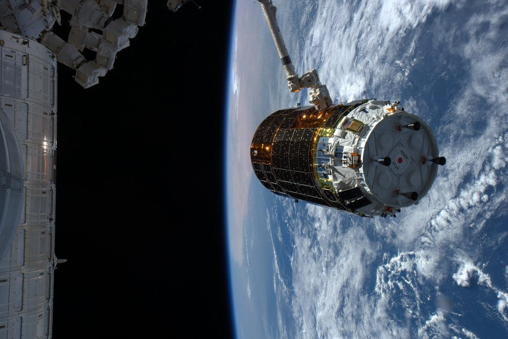 Japanese Cargo Ship Delivers Mouse House, Booze and More to Space Station