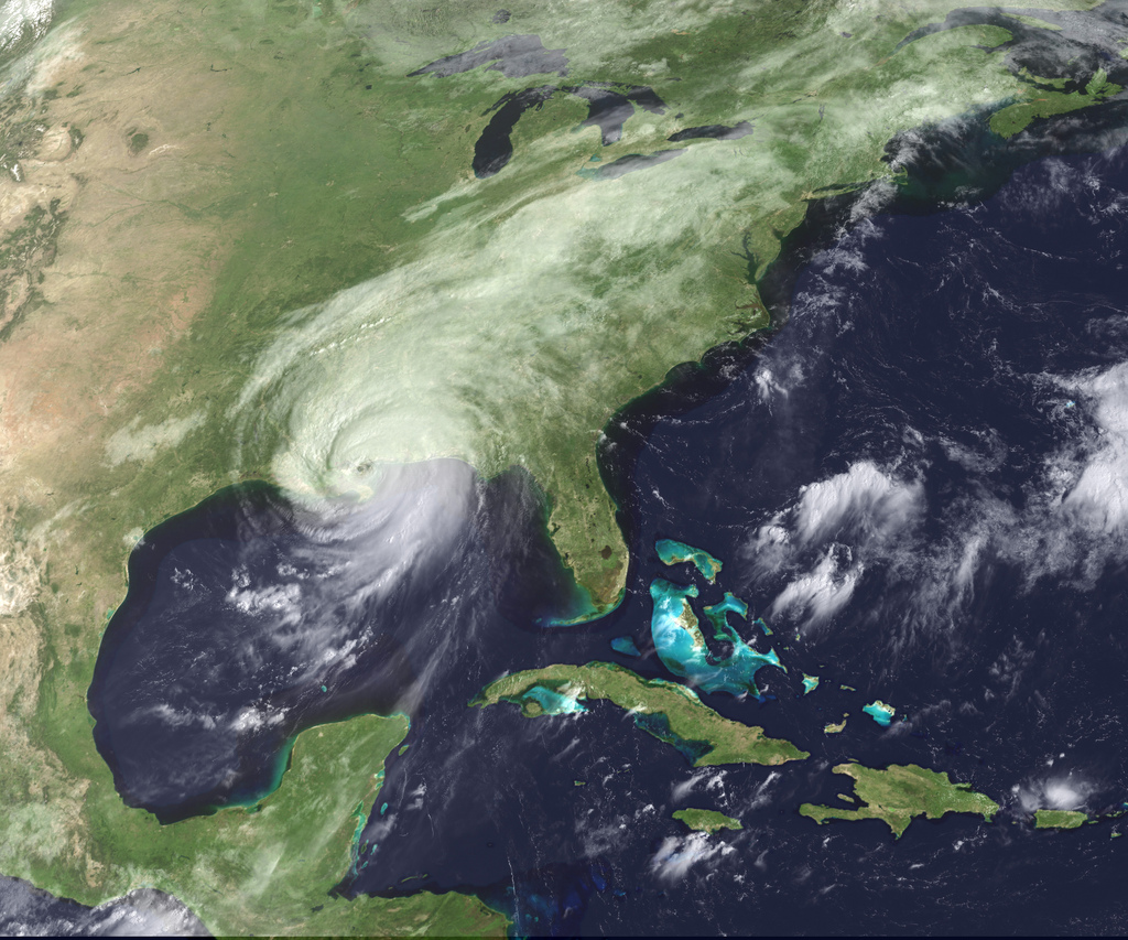 hurricane katrina nasa earth observatory - photo #44