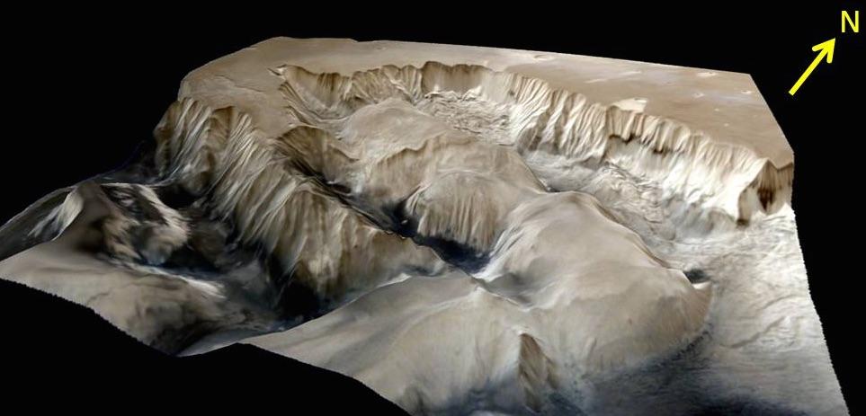 Ophir Chasma Terrain