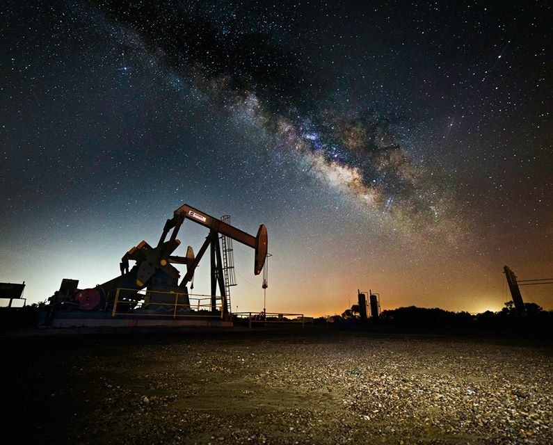 Milky Way from South Texas