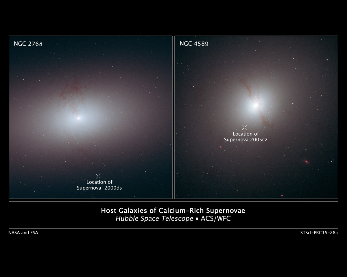 Host Galaxies of Calcium-Rich Supernovas