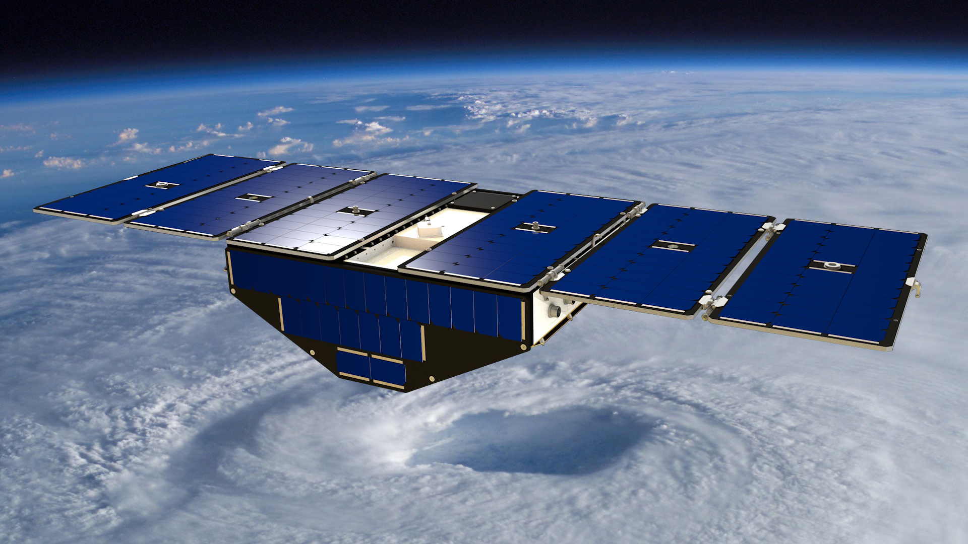 NASA's CYGNSS Hurricane-Tracking Satellites in Pictures
