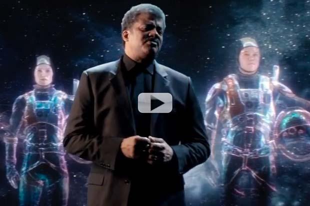 'The Martian': 'Future' Neil Tyson Gets 'Cosmic' For Film Promo | Video