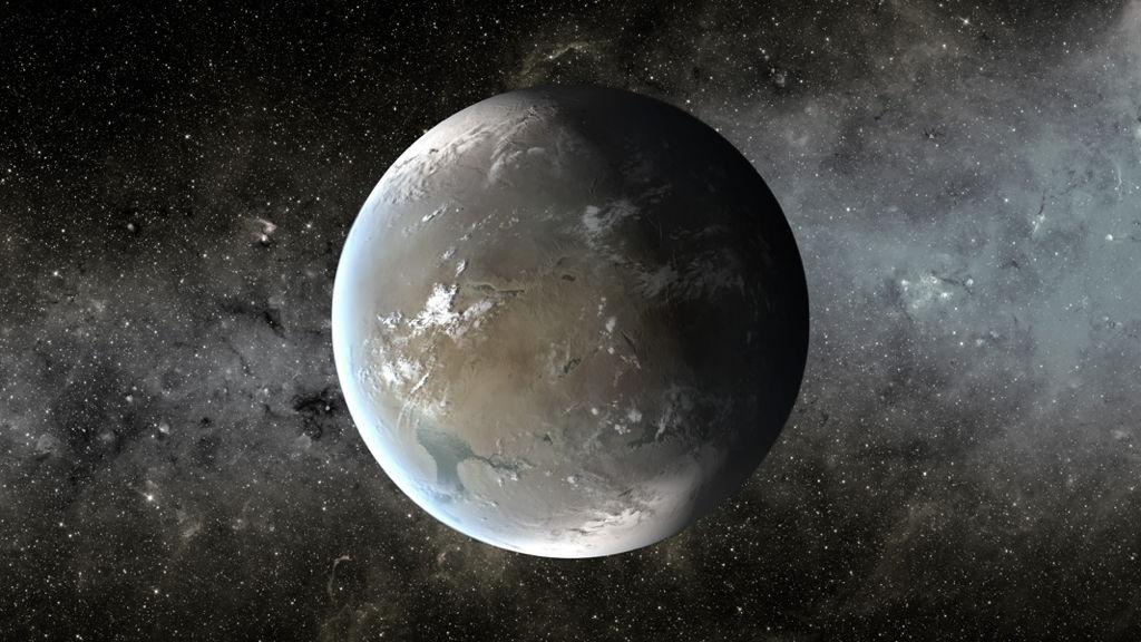 Kepler-62f Exoplanet Image