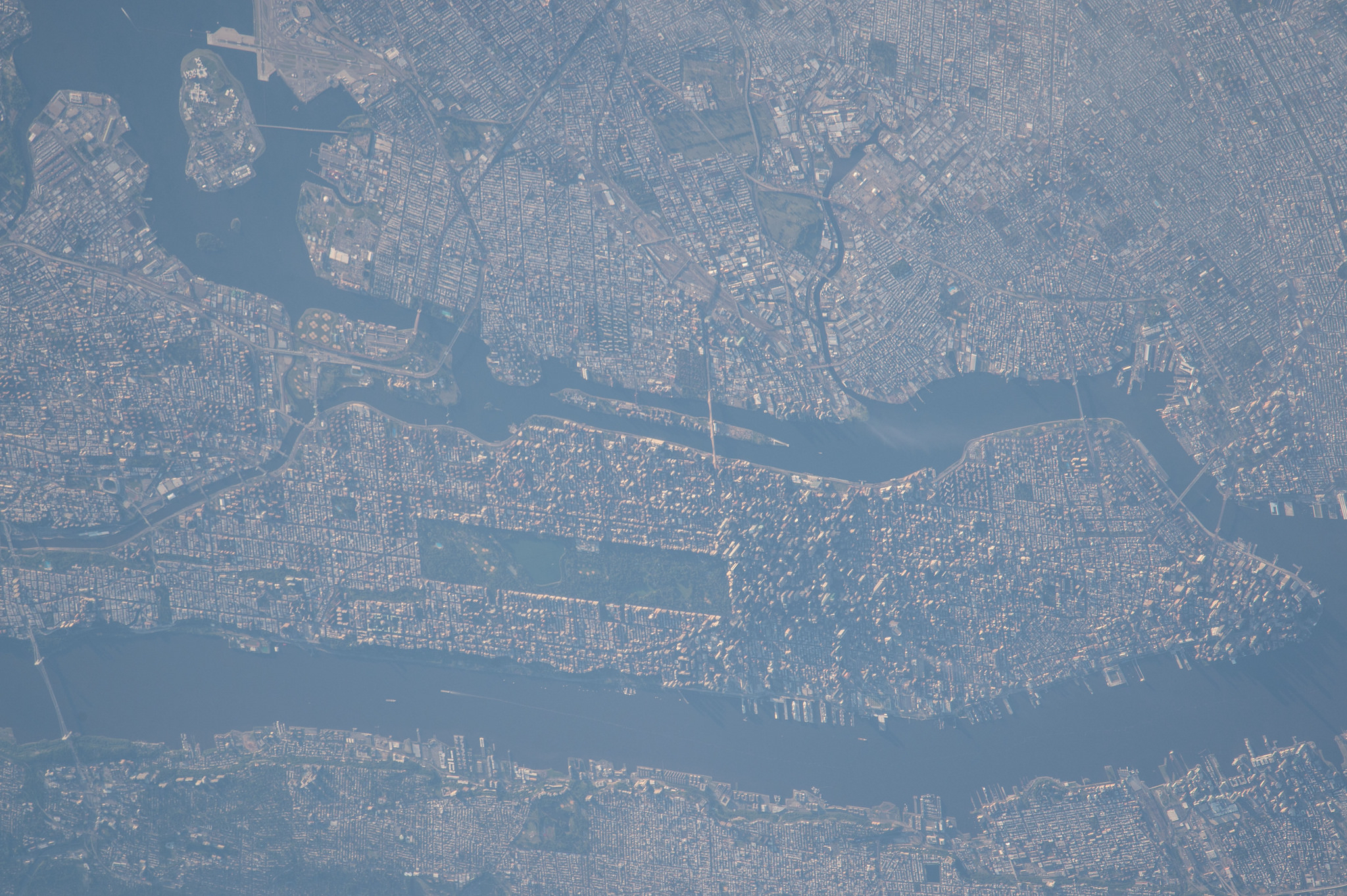 Earth Observation of New York City