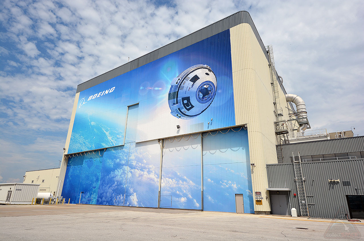 Boeing's Starliner Facility at Kennedy Space Center