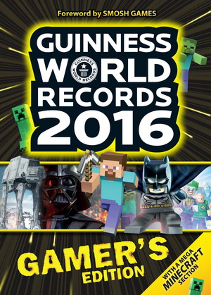 The Guinness World Records 2016 Gamer's Edition was released on Sept. 10, 2015.