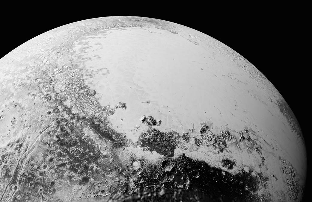 Perpective View of Pluto