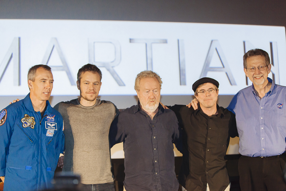 'The Martian' - Group Photo