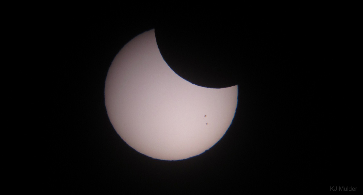 Partial Solar Eclipse Seen in South Africa