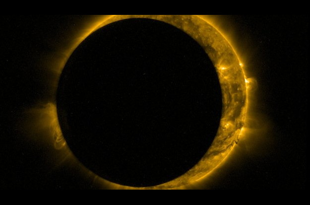 Partial Solar Eclipse Seen by Proba-2