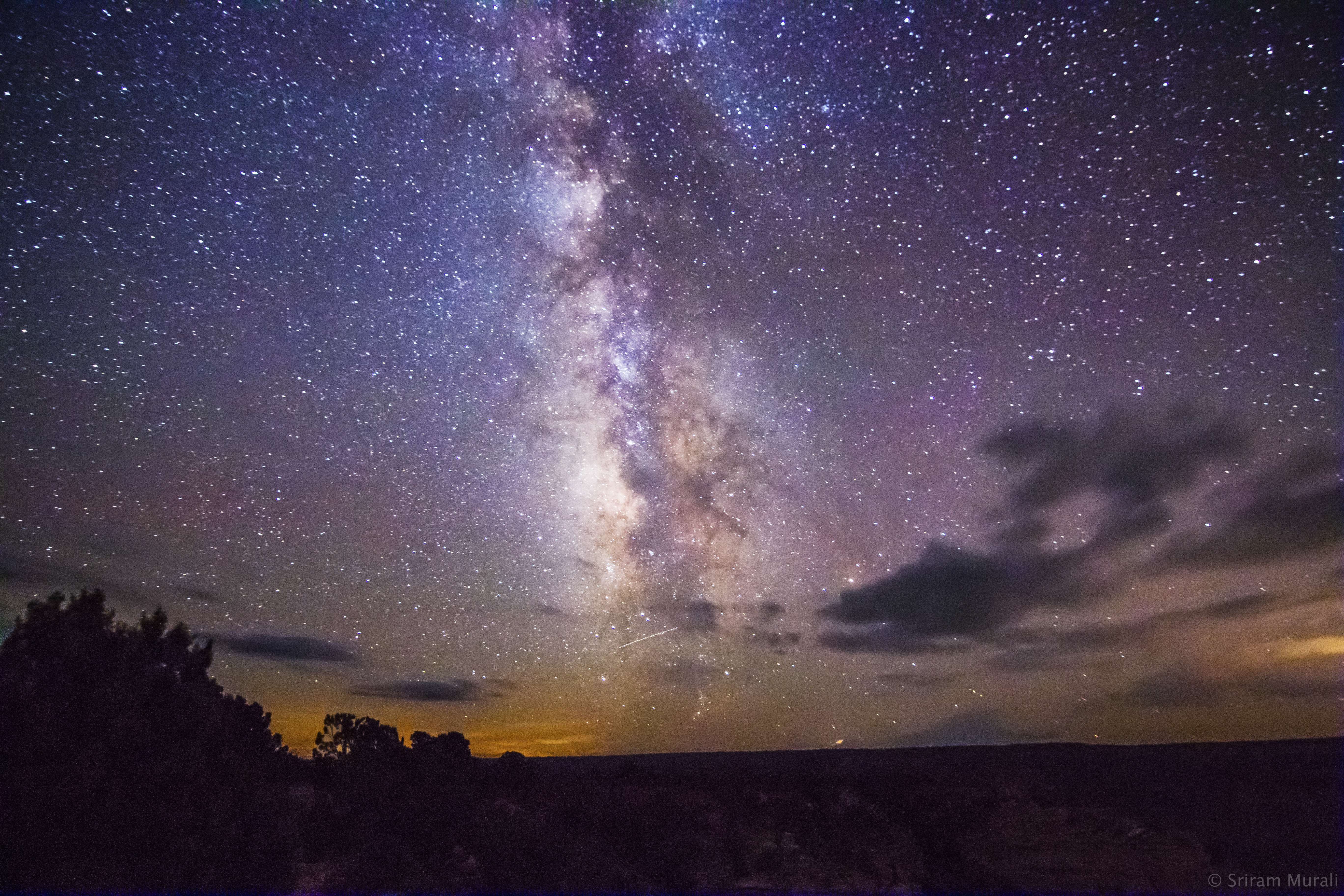 Milky Way Over The Grand Canyon South Rim