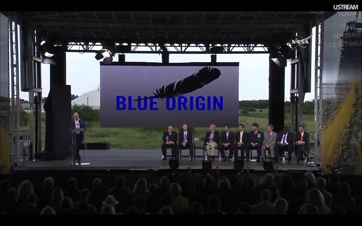 Blue Origin Event at KSC