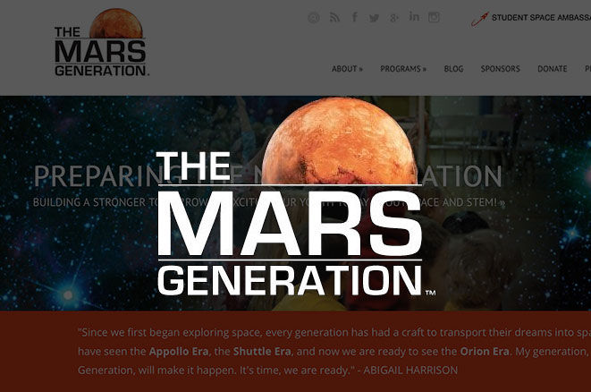 Launching 'The Mars Generation': Teen on Mission to Get People to Mars