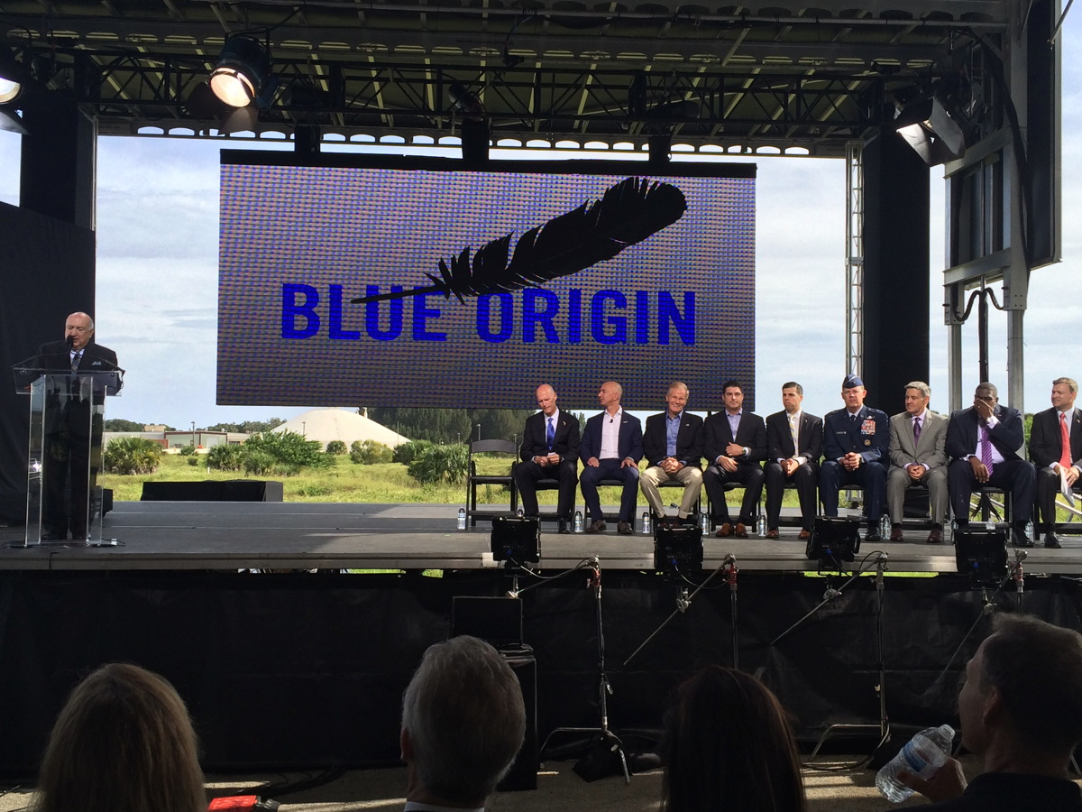 Blue Origin Media Event Sept. 15, 2015