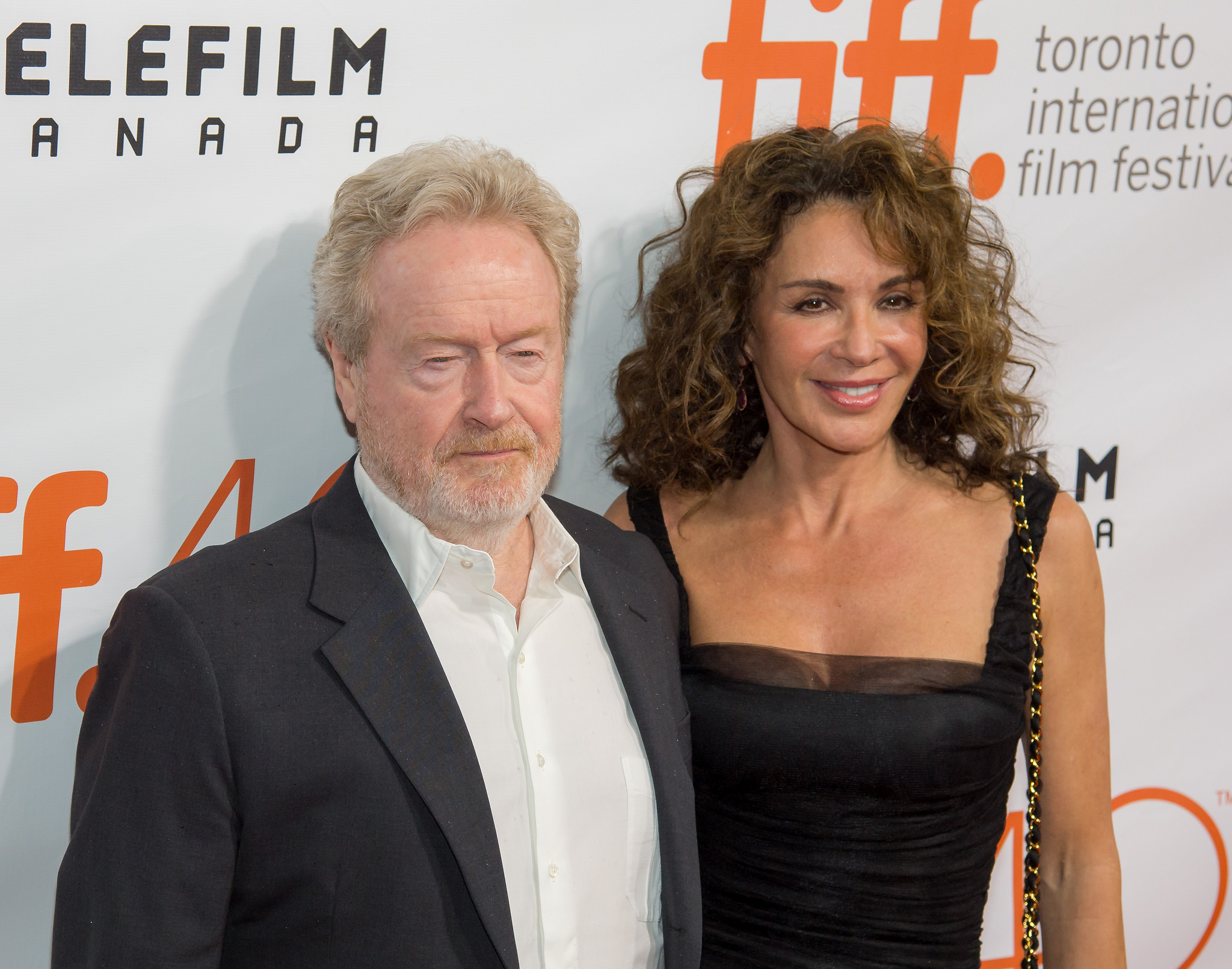 Director Ridley Scott at