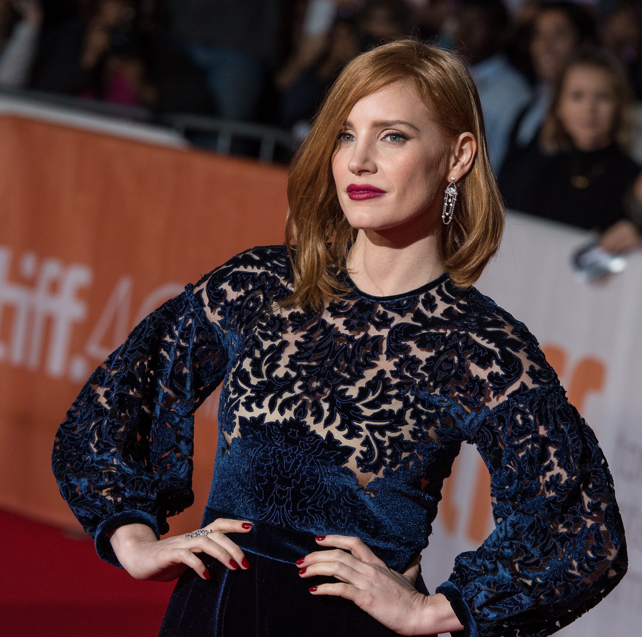 Actress Jessica Chastain attends