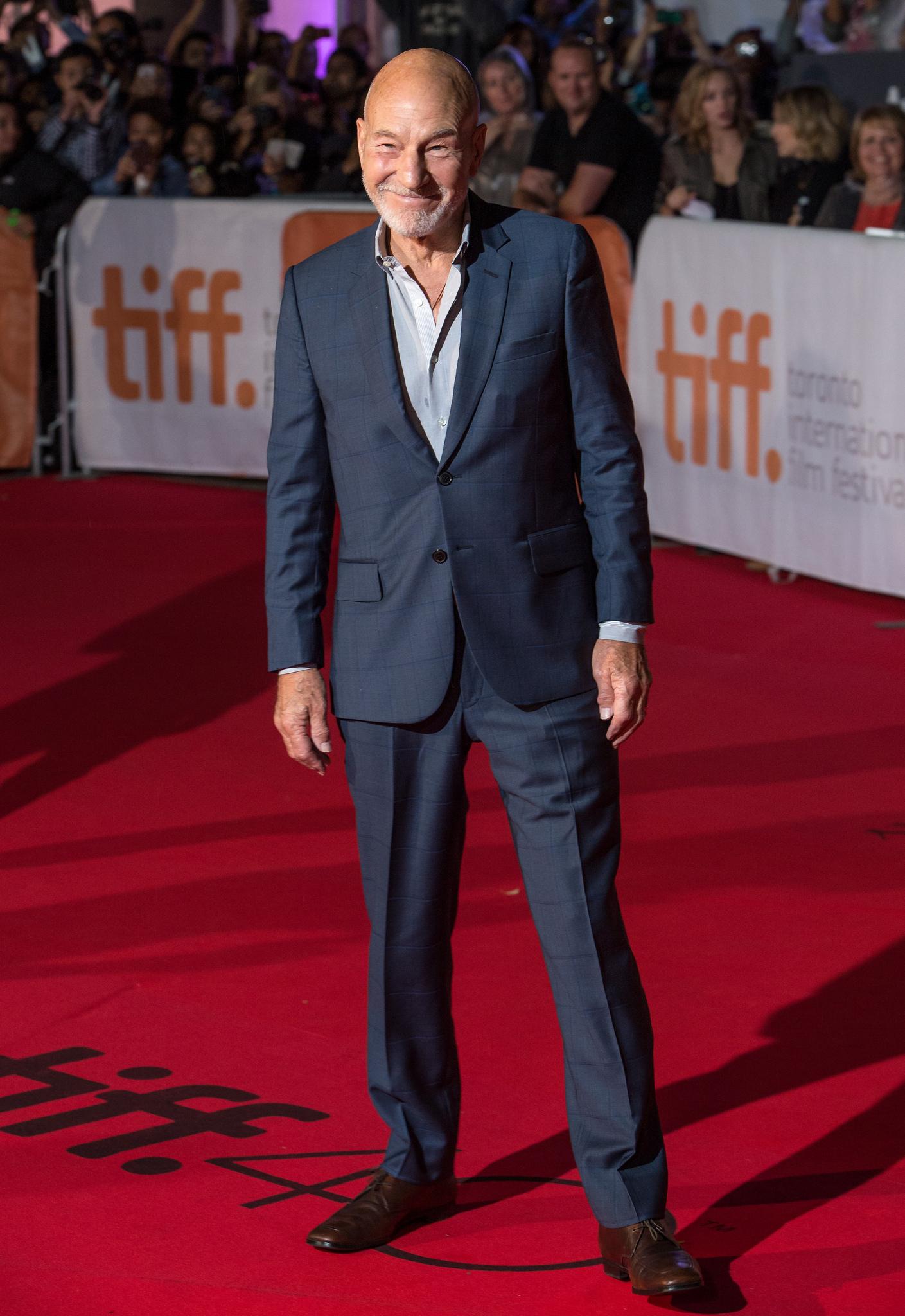 Actor Patrick Stewart attends