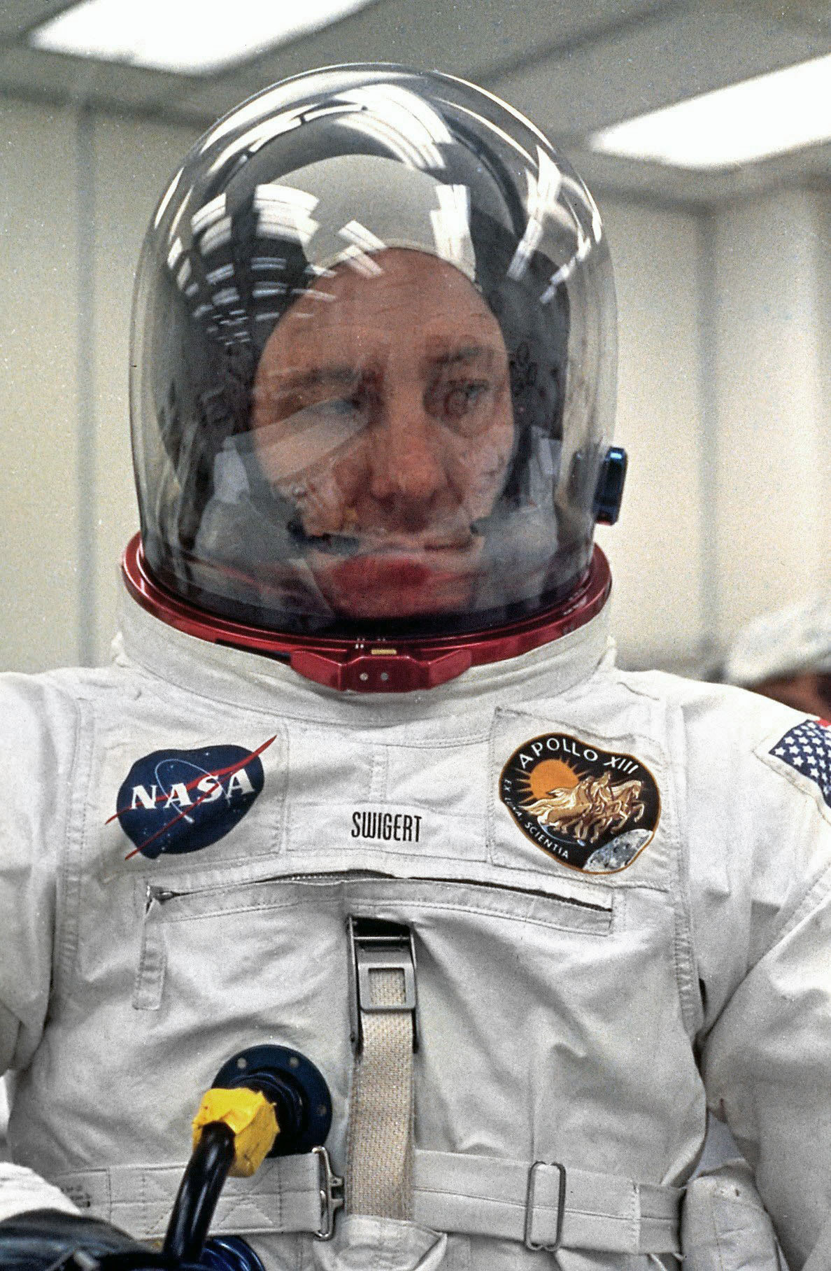 Apollo 13 Command Module Pilot Jack Swigert,