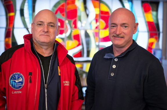 The Kelly twins, Scott (left) and Mark, are participating in an unprecedented study of how spaceflight influences human physiology.