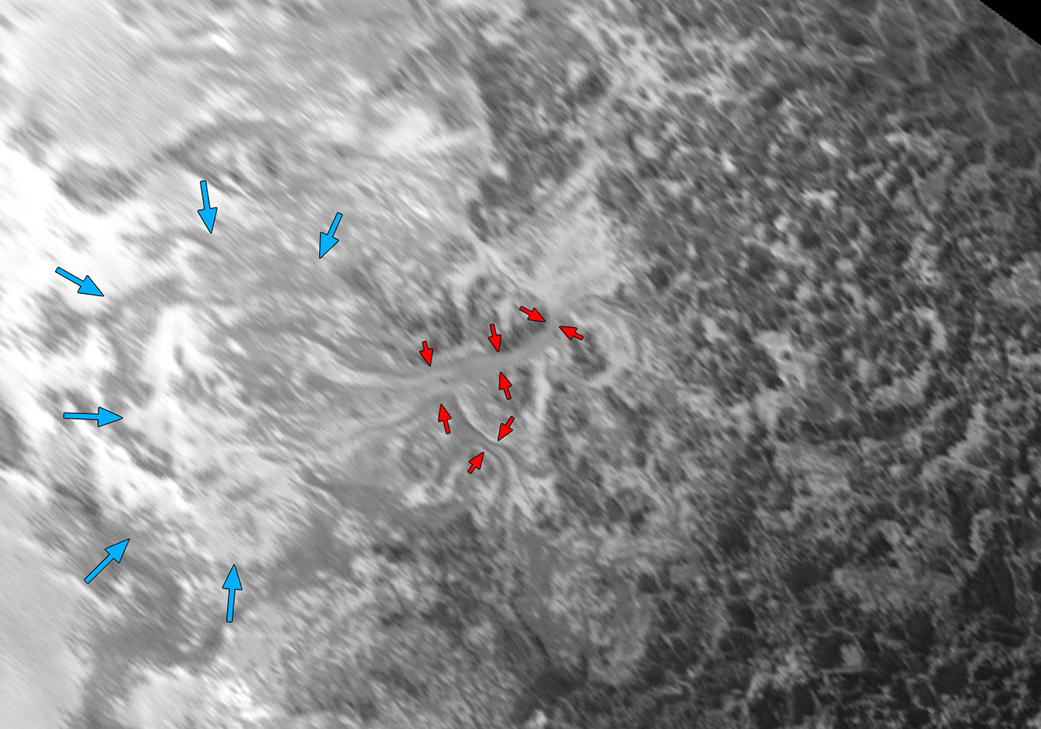 Flowing Ice on Pluto's Plains (2)