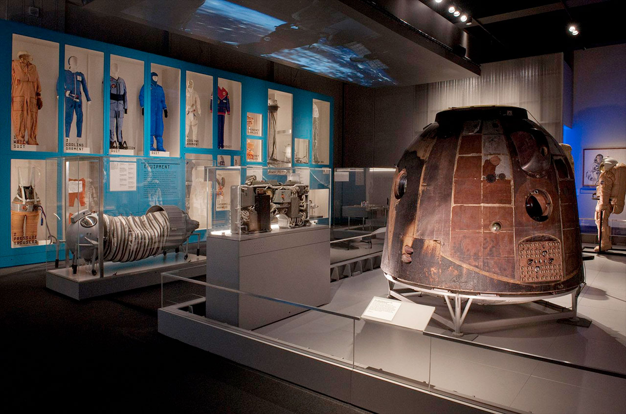 """Cosmonauts: Birth of the Space Age"" Exhibit"