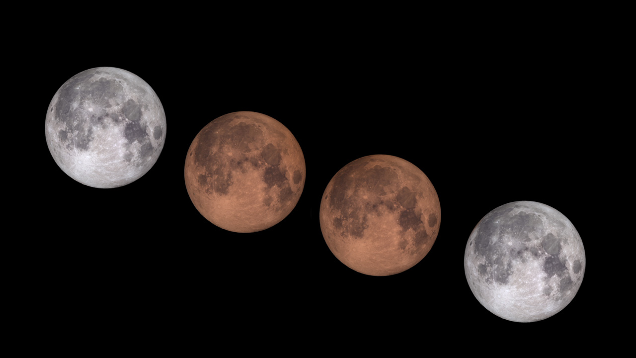 September 27, 2015, Total Lunar Eclipse