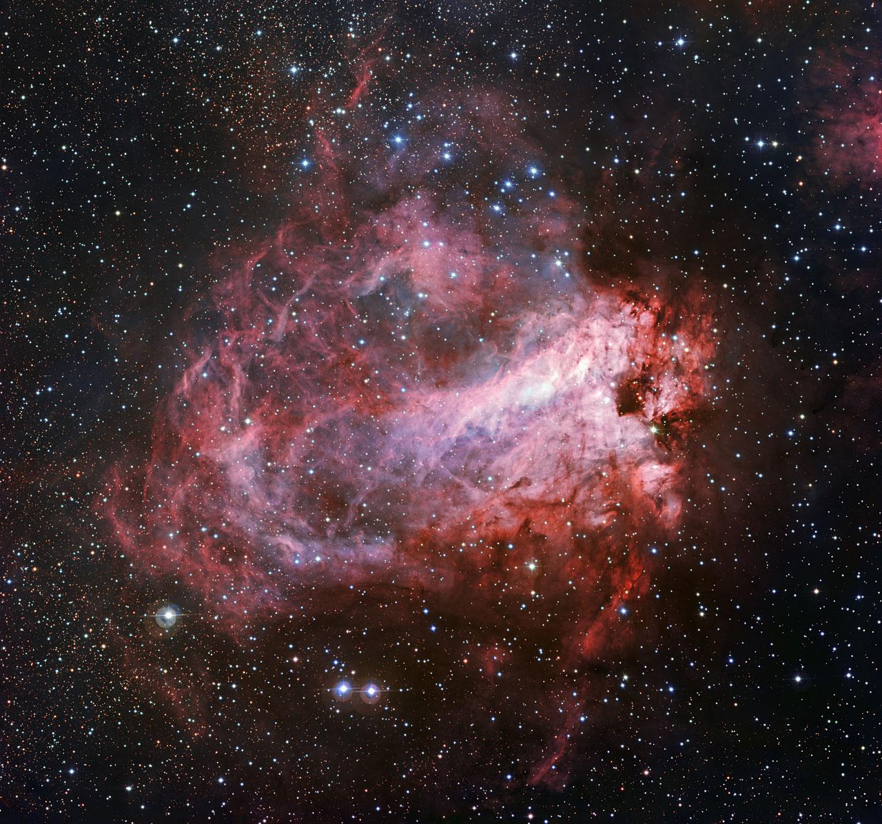 Messier 17 Star-Forming Region