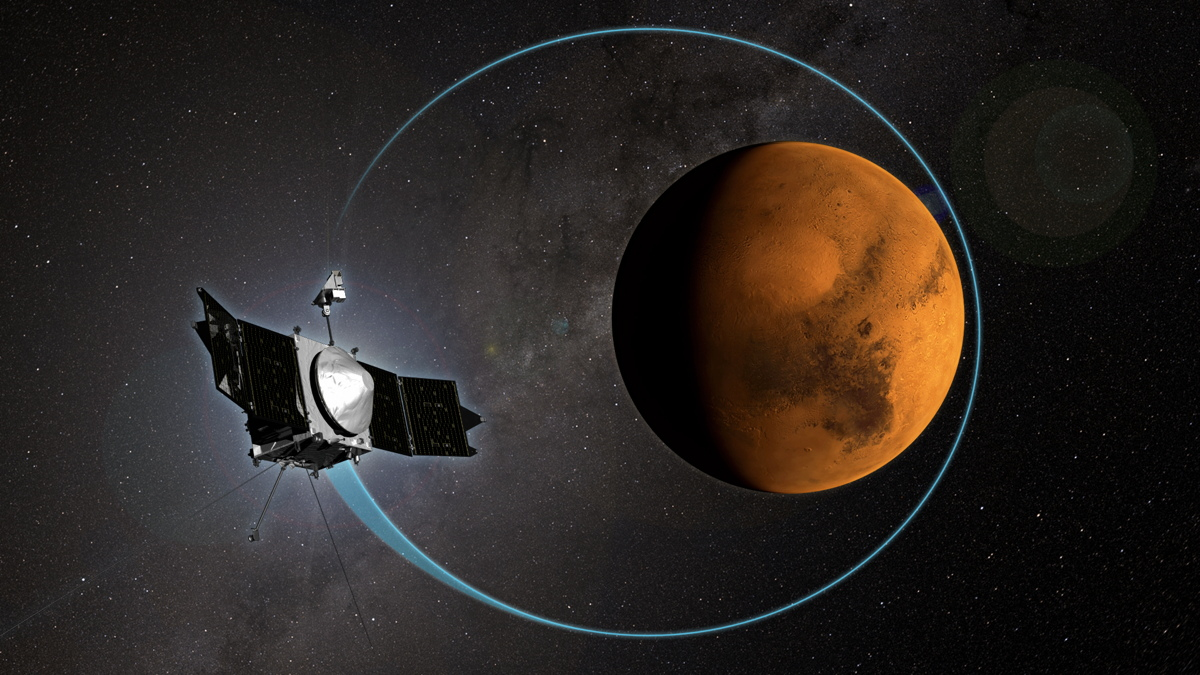 NASA Mars Probe Marks One Year at Red Planet
